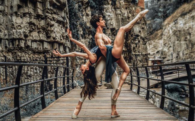 Nutsa Chekurashvili and Philip Fedulov Principal Dancers at the State Ballet of Georgia