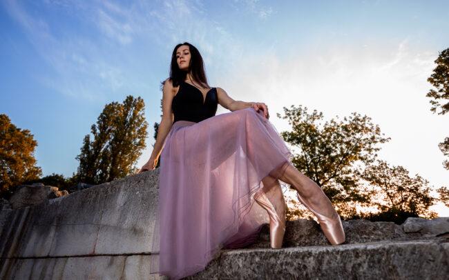 Kristina Starostina, ballet dancer from Russia in Budapest, photos by Raul Duran, raulduranphoto